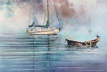 Aquarell Maritime
