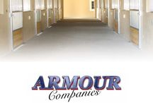 Armour Companies Horse Stalls Catalog / Armour offers a wide variety of horse stall components including, sliding stall doors, dutch doors, barn gates, miniature horse stalls, stall front grilles and divider partitions, barn accessories and much more. You can view many of the products in the pages of this catalog, featured on this board.