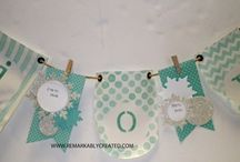 stampin up banners