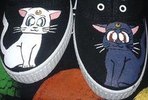Zapas / Decoro zapatillas. Las personalizo a tu gusto, aquí te muestro algunas de las que he hecho