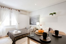 Cozy & trendy studio / A very trendy and high end Studio, all in white, an historical and old fashioned building, with modern commodities and lift, very well located in Madrid centre.