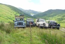 Series Landrovers in Scotland