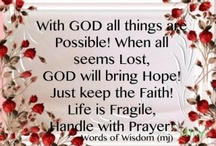 Faith, Hope and Love / by Aleah Combs