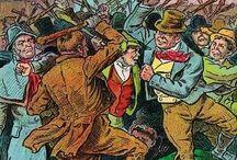 Irish Stick Fight