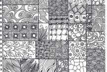 Inspiration: Zentangle / by Becky H