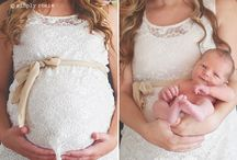 Before after pregnancy photo