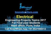 Pramil Santu Wakchaure / Block Diagram of electrical engineering Final Year Project of Engineering Students,