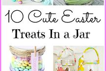 Mason Jar Easter Ideas / Why do baskets have a monopoly on Easter? This year mix things up with some special Mason jar Easter ideas for everything from Mason jar Easter crafts to Mason jar Easter gifts! Hop to it!  For more Mason jar ideas visit: http://masonjarbreakfast.com/.