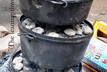 Dutch Oven for The Road / For when we can fires, to do some great dutch oven cooking