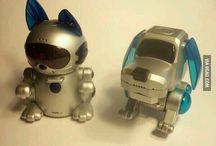 Robot cats & dogs