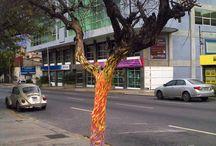 ARBOLES MUERTOS Raiza Barros / Acá presento cada una de las intervenciones artísticas que he realizado sobre árboles muertos desde el año 2011