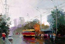 Трамвай / Картины