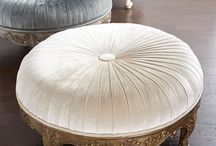 Extra seating with Ottomans