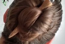 Hair stick, hair fork