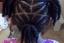 Cornrows for little girls