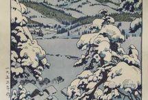 Paesaggi giapponesi/ Dipinti