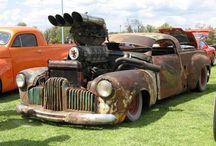 Rat rods / One of my guilty pleasures - beautiful ugly cars...