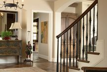 Stairs and entryway design