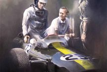 Cars and art / Cars and art. Painting, posters, illustrations, print, retro