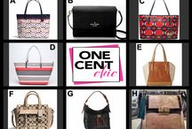 Super Tuesday Designer Choice Auction / June 24 @OneCentChic Beautiful designer bags - Win them for pennies tonight at 10 PM