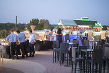 The Sunset Deck / Let us plan your perfect party or event on our Sunset Deck.