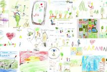 Geocaching Kids / Tolle und absolut kreative Bilder der Junggeocacher #Geocaching #Garmin