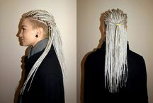 Hairstyles: dreads