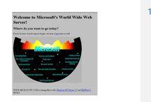 Microsoft a jeho web v čase / Jak se postupně měnila stránka Microsoftu  www.microsoft.cz