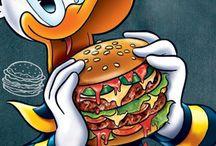 Donald Duck's company!