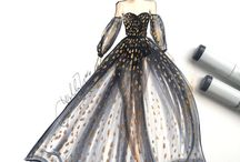 Gowns, dresses and other princess's stuff