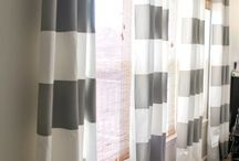 Window treatments / by Rachael Williams