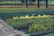 Plein Air paintings / My oil paintings that have been made 'en plein air'