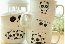 ❊ Cups/Mugs/Kitchen Items ❊ / Should buy some for my own kitchen... / by Catherine Zeng ♡