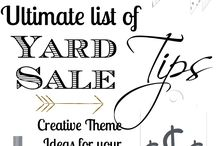 Ultimate Yard Sale Tips / by Tazza
