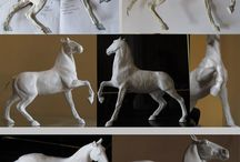 Horse sculpting