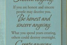 Favorite Sayings and Quotes / by Kathleen Thomas
