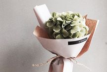 Pretty Wrapped Gift Bunches