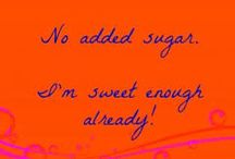 Quit Sugar (and sweeteners) - you're sweet enough! / Sugar and artificial sweeteners like aspartame aren't necessary - or good for you. HFCS (high fructose corn syrup), agave - even honey - what impact do they have on health?