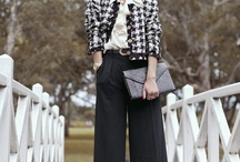 How to wear palazzo style pants