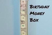 Birthdays gifts.