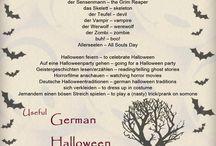 Nemčina- sviatky