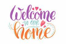 Wishboard Home sweet home / cozy home