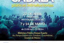 PLÁTICAS INTRODUCTORIAS / El propósito de las pláticas es presentar a los participantes los conceptos básicos de la sabiduría de la Cabalá sustentada por el Centro de Estudios de Cabalá Bnei Baruch en México