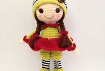 crochet, dolls, amigurumi