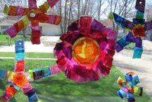 Windows, Glass, & Light: Art for Kids / suncatchers, stained glass, and other art for windows and  light