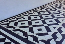 Victorian path tiles / Installations using our sheeted tile products