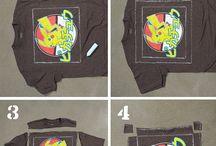 Tee shirt hacks