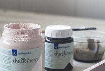 Chalk paint dye
