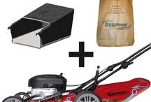 Tondeuses à gazon écologiques / Tondeuses à gazon permettant de tondre jusqu'à 2 fois plus vite et sans effort grâce aux technologies d'ensachage et d'antibourrage