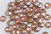 CzechMate 2-Hole Lentil Beads